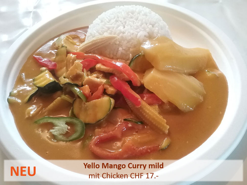 Yello Mango Curry mild